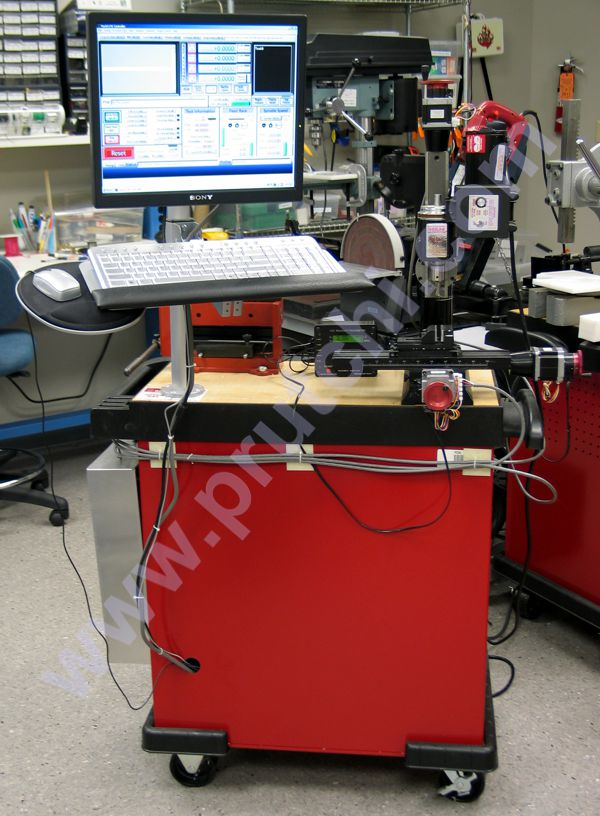Sherline Model 2000 micro mill CNC modification with Mach3 control by David Prutchi, Ph.D.