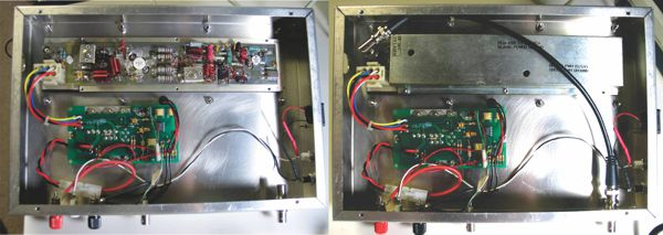 Inside view of RF power supply for diy laser engraver/cutter mod for CNC X2 mini mill by David Prutchi