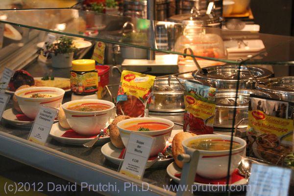Maggi restaurant in Leipzig, Germany. David Prutchi PhD, www.prutchi.com