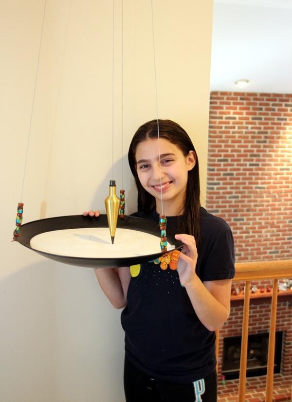Abigail Prutchi's sand pendulum.  www.prutchi.com