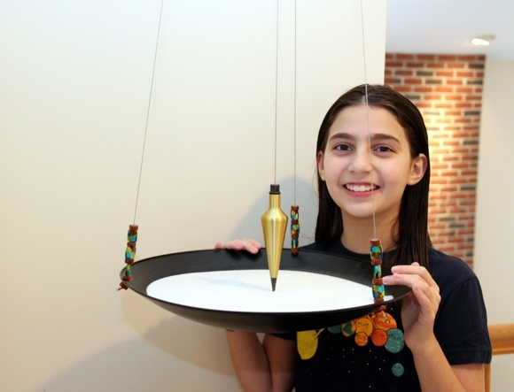 Abigail Prutchi's Sand Pendulum www.prutchi.com