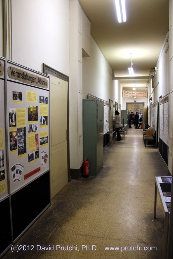 The Stasi Museum in Leipzig, Germany. (c)2012 David Prutchi, PhD www.prutchi.com
