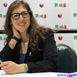 Mayim Bialik at the US Science & Engineering Festival Washington DC April 2012