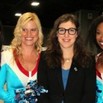 Mauim Bialik and the Science Cheerleaders at the US Science & Engineering Festival Washington DC April 2012