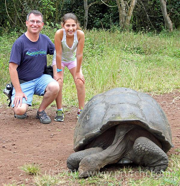 David and Abigail Prutchi in the Galapagos Islands, (c)2012 David Prutchi, Ph.D.